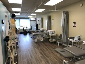 Physiotherapy clinic space in a Medical building or in a plaza