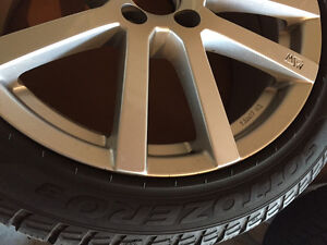 Mercedes C - Class Winter Rims and Snow Tires - $1100