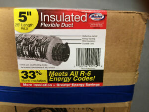 "5"" Flexible Insulated Duct"