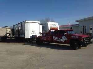 Trailer pick ups and deliveries