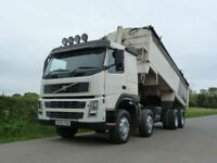Volvo FM 13 400 8 X 4 Alloy Body Tipper