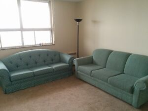 FREE COUCHES FOR PICK-UP IN DOWNTOWN KITCHENER