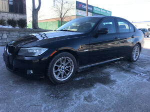 2010 BMW 323l Black on Black Leather Winter Tires Very Clean