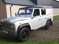 Land Rover 110 Defender 2.4TDi Utility 2010, Storry 4x4