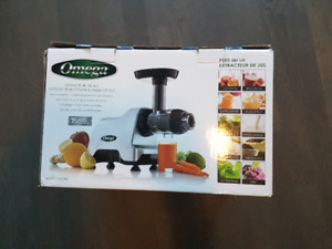 Omega CNC80S Juicer Brand New - ultimate health