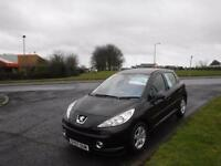 PEUGEOT 207 1.4 SPORT 2007,ALLOYS,AIR CON,SERVICE HISTORY,CLEAN EXAMPLE