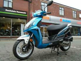SYM JET 4 50CC learner legal scooter moped.