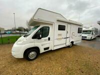 2007 COMPASS AVANTGARDE 180 PEUGEOT 2.2 HDI 6 BERTH REAR LOUNGE MOTORHOME WITH