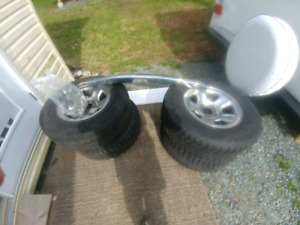 Rim with tires