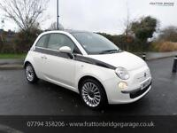 FIAT 500 LOUNGE F.S.H Low Mileage Excellent Condition, White, Manual, Petrol, 20