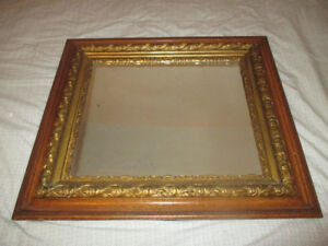 Antique Mirror  - Intricate Wood Carvings