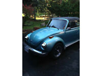 1979 Super beetle Karmann convertible mint showroom condition