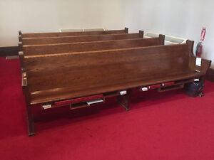 Historic Church pews for Sale