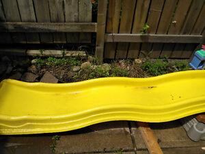 Yellow Slide to attach to climber