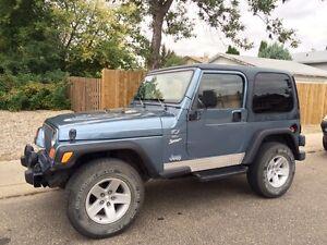 1998 Jeep TJ Wrangler Sport
