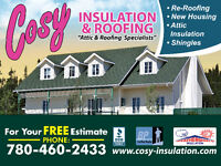 "Cosy Insulation & Roofing ""Attic & Roofing Specialists"""