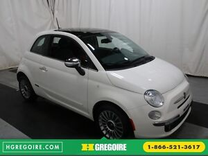 2012 Fiat 500 Lounge A/C CUIR TOIT MAGS BLUETOOTH