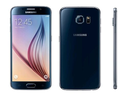 Samsung Galaxy S6 4G LTE with 32GB Memory Cell Phone Black Sapphire (Verizon Wireless) SMG920VZKA