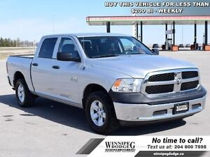 2013 Ram 1500 SXT Crew 4x4 *LOCAL TRADE*  Crew Cab 4x4 w/V8 *Acc