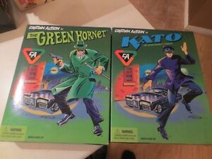 GREEN HORNET AND KATO ACTION FIGURES 1998