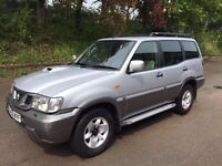 Spare or Repairs Nissan Terrano 3L 4x4 Diesel 7 Seater