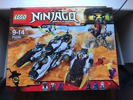 LEGO 70595 Ninjago Ultra Stealth Raider Building Set