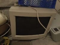Old style computer monitor