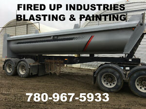 FIRED UP INDUSTRIES BLASTING AND PAINTING ***ONOWAY, ALBERTA