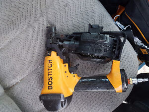 Bostitch roofing nailer like new