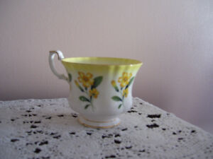 Royal Albert Yellow Floral Tea Cup