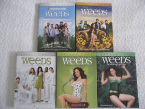 Weeds - seasons 1 to 5 - $30 for all