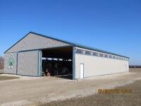 Pole Barns, Garages, Sheds, Equestrian Buildings