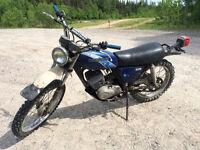 Vintage 1977 Kawasaki KE175 Enduro bike