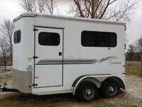 2000 Sundowner BP Horse Trailer
