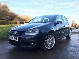 Volkswagen Golf 2.0TDI GT 2008 Blue Diesel Manual Hatchback 5 door