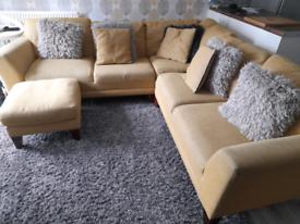Corner sofa and more