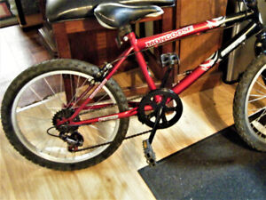 Boy's Mongoose Bike--Needs To Be Sold Today!!