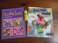 Kids Craft Books - Duct Tape Crafts & Intro to Corking
