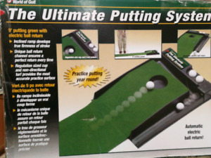 The ultimate putting golf system