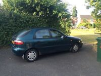 Daewoo Lanos 1.4 petrol very good condition MOT 04/2017 and road tax 04/2017