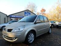 2008 08 RENAULT SCENIC 1.6 DYNAMIQUE VVT 5 DOOR 08 PLATE FULL SERVICE HISTORY