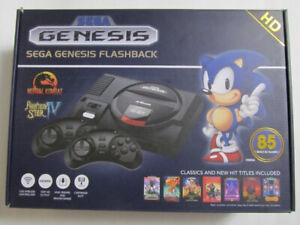 Brand New-Sega Genesis Flashback Retro Console with 85 Games