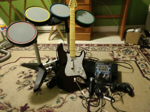 Rock Band with Play Station
