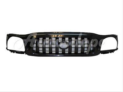 For 2001 2004 Tacoma S RunnerPrerunner Model  01 03 Dlx Model Grille All Black