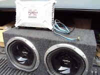 1300W subs with 500W amplifier