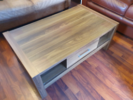 Next Coffee Table & Cabinet Set