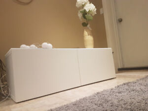 TV bench/Stand/Storage unit, (IKEA), white, perfect condition
