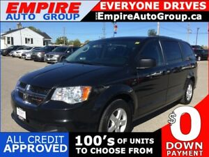 2012 DODGE GRAND CARAVAN AMERICAN VALUE PACKAGE * DVD * POWER GR