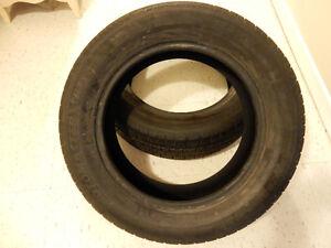 Two All season tires 215/60 R16 London Ontario image 1