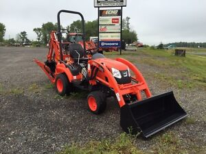 Kioti CS2410 with loader and backhoe SOLD